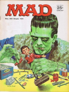 Go to MAD Magazine #89