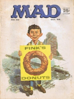 Go to MAD Magazine #90