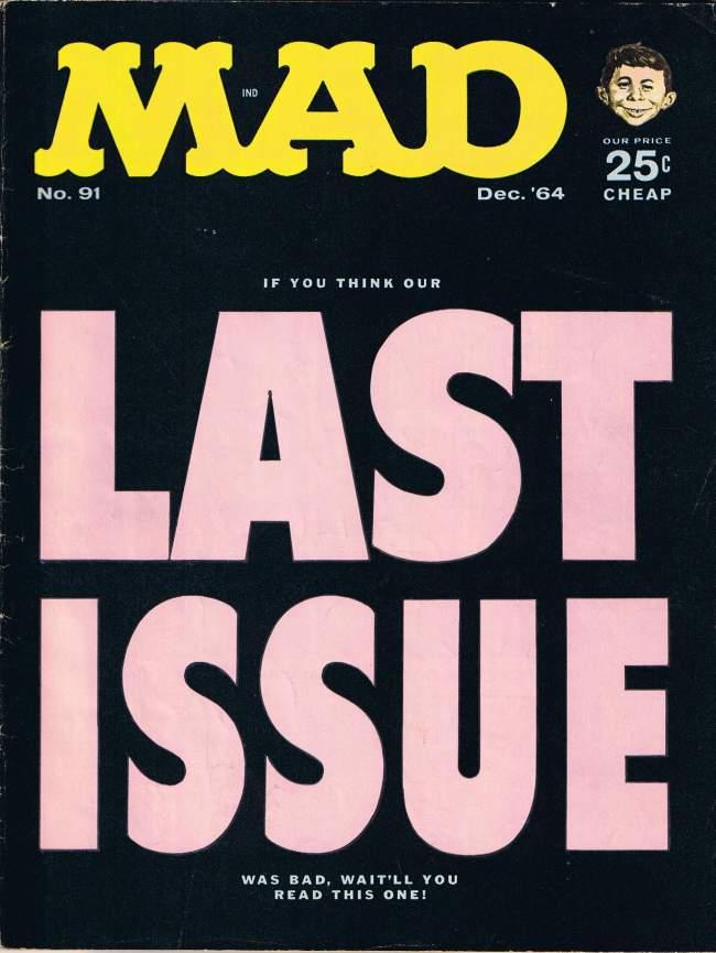 MAD Magazine #91 • USA • 1st Edition - New York
