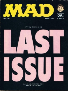 Go to MAD Magazine #91 • USA • 1st Edition - New York