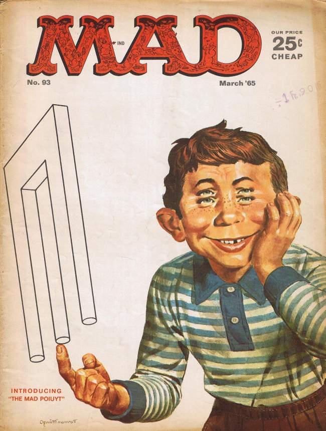 MAD Magazine #93 • USA • 1st Edition - New York