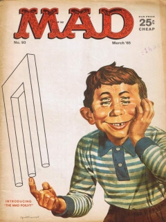 Go to MAD Magazine #93 • USA • 1st Edition - New York