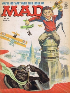 MAD Magazine #94 • USA • 1st Edition - New York