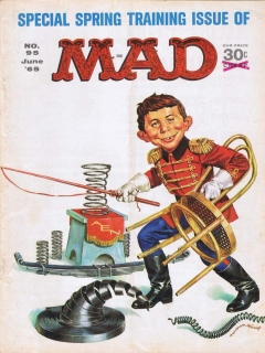 Go to MAD Magazine #95 • USA • 1st Edition - New York
