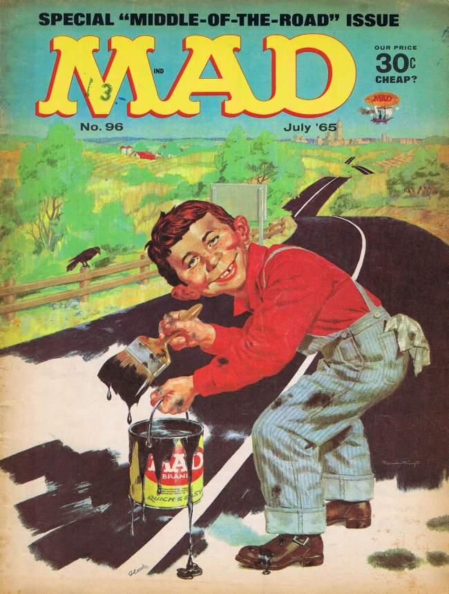 MAD Magazine #96 • USA • 1st Edition - New York