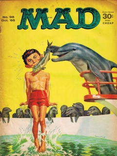 Go to MAD Magazine #98 • USA • 1st Edition - New York