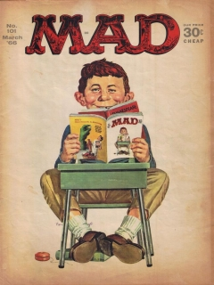 Go to MAD Magazine #101 • USA • 1st Edition - New York