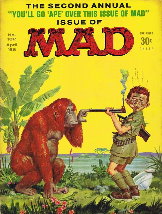 MAD Magazine #102 • USA • 1st Edition - New York