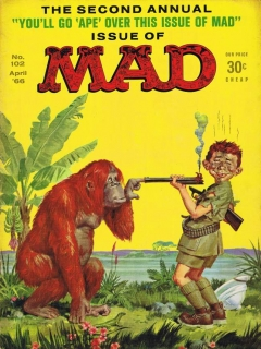 MAD Magazine #102 • USA • 1st Edition - New York