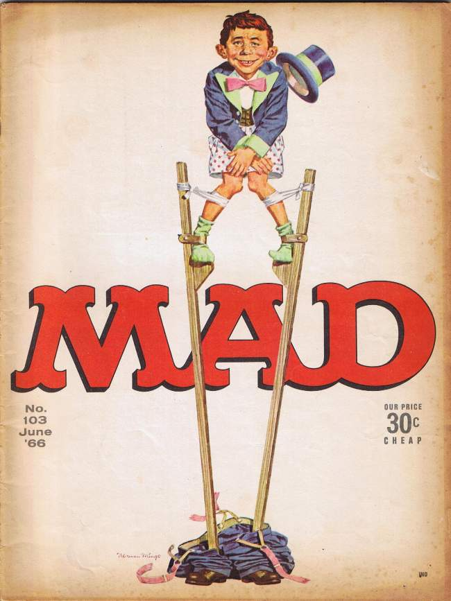 MAD Magazine #103 • USA • 1st Edition - New York