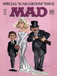 Go to MAD Magazine #104