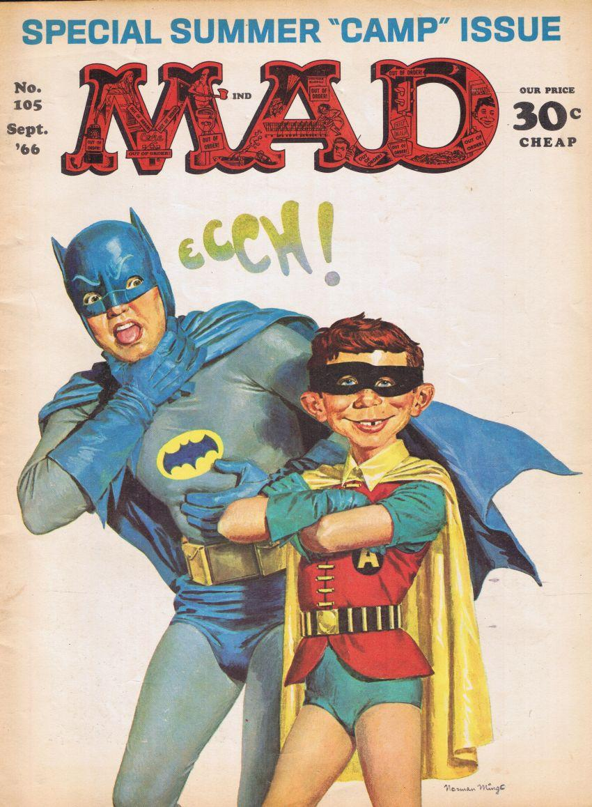 MAD Magazine #105 • USA • 1st Edition - New York