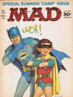 Go to MAD Magazine #105 • USA • 1st Edition - New York