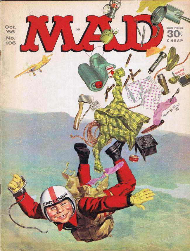 MAD Magazine #106 • USA • 1st Edition - New York