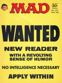 Go to MAD Magazine #107 • USA • 1st Edition - New York