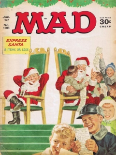 Go to MAD Magazine #108