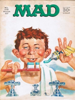 Go to MAD Magazine #109 • USA • 1st Edition - New York