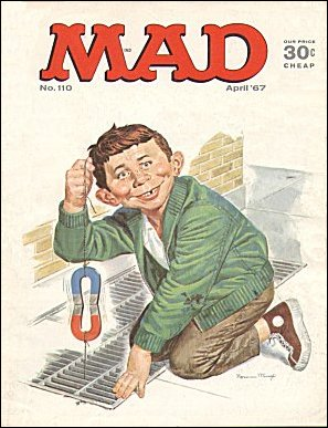 MAD Magazine #110 • USA • 1st Edition - New York