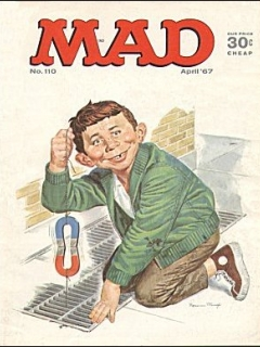 Go to MAD Magazine #110 • USA • 1st Edition - New York