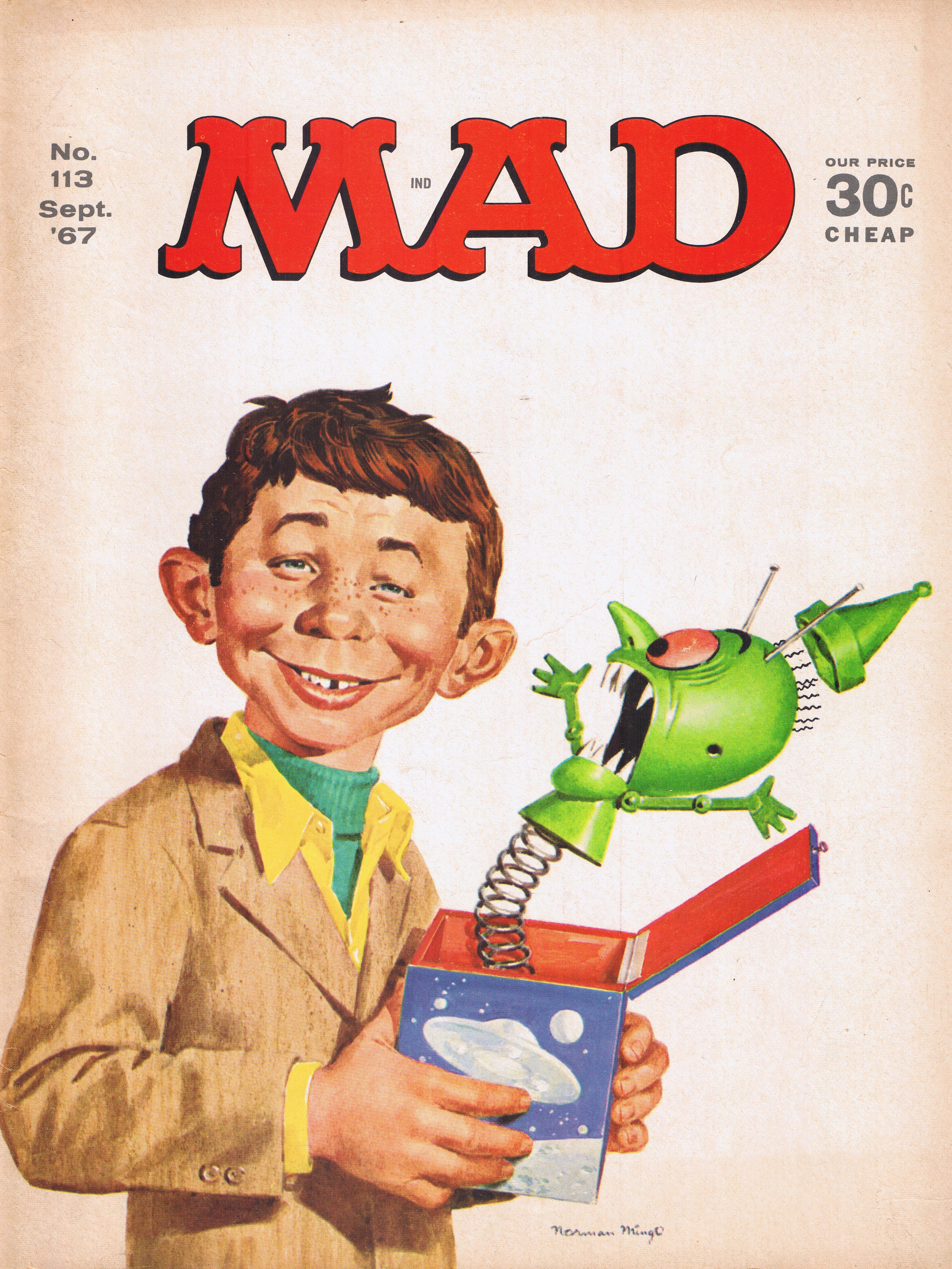 MAD Magazine #113 • USA • 1st Edition - New York