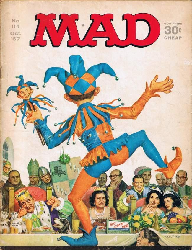 MAD Magazine #114 • USA • 1st Edition - New York