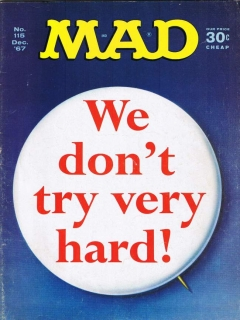 Go to MAD Magazine #115 • USA • 1st Edition - New York