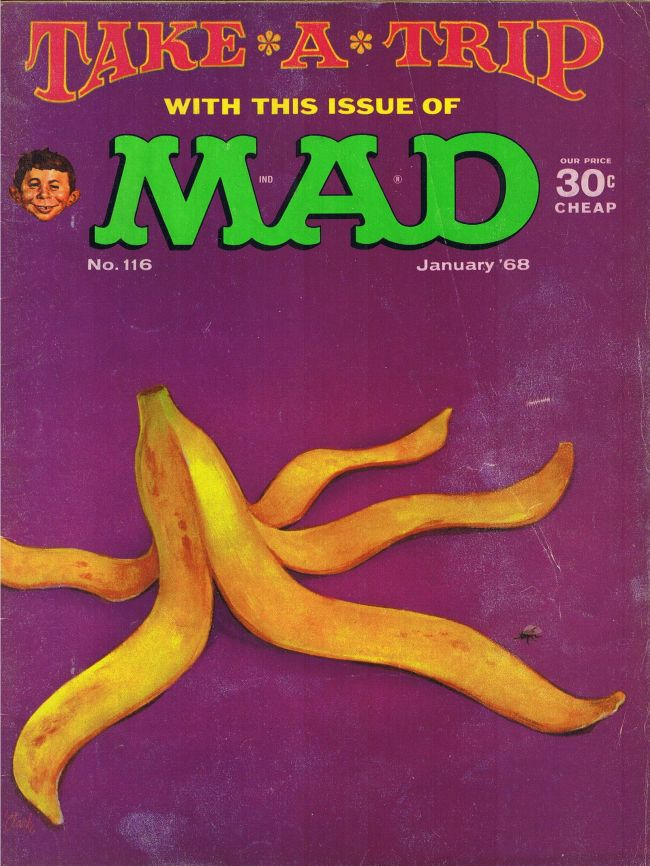 MAD Magazine #116 • USA • 1st Edition - New York