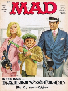 Go to MAD Magazine #119