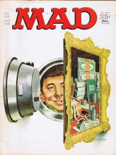 Go to MAD Magazine #120 • USA • 1st Edition - New York