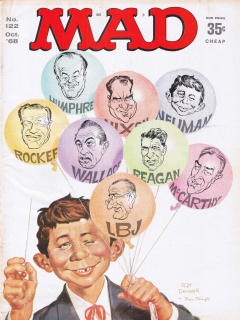 MAD Magazine #122 • USA • 1st Edition - New York