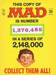 Go to MAD Magazine #123 • USA • 1st Edition - New York