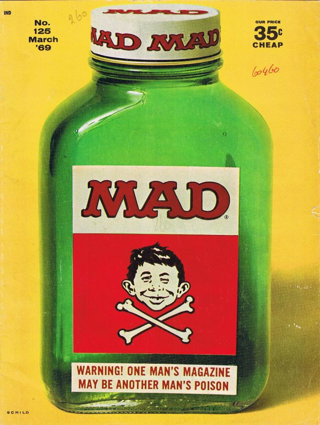 MAD Magazine #125 • USA • 1st Edition - New York