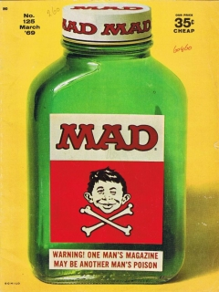 Go to MAD Magazine #125