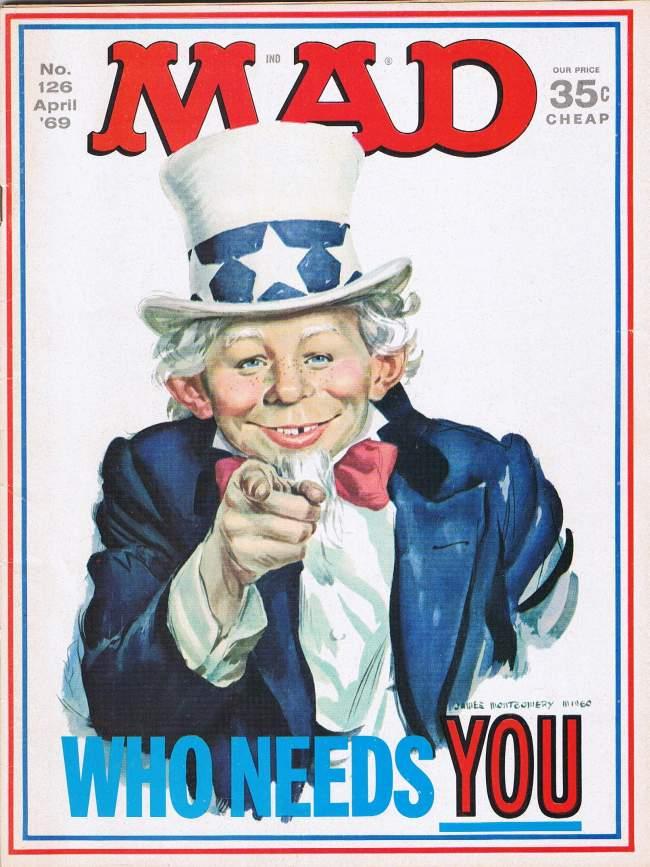 MAD Magazine #126 • USA • 1st Edition - New York