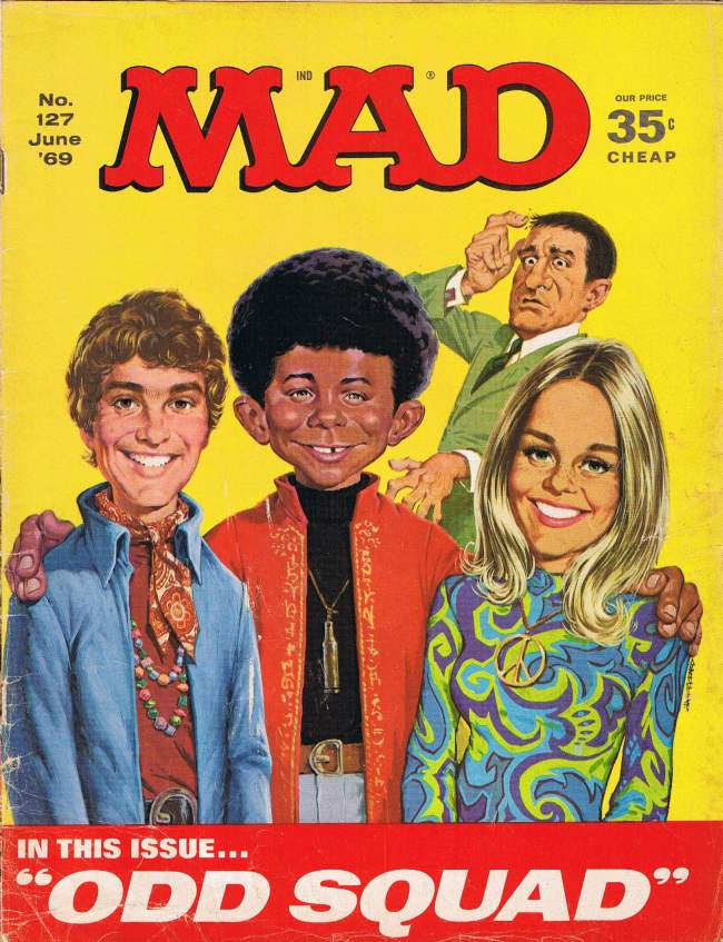 MAD Magazine #127 • USA • 1st Edition - New York