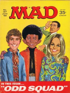 Go to MAD Magazine #127 • USA • 1st Edition - New York
