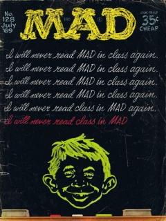 Go to MAD Magazine #128 • USA • 1st Edition - New York