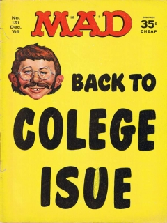 Go to MAD Magazine #131 • USA • 1st Edition - New York