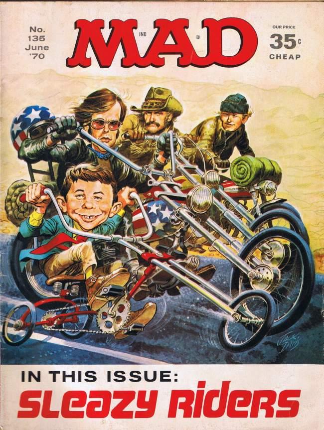 MAD Magazine #135 • USA • 1st Edition - New York