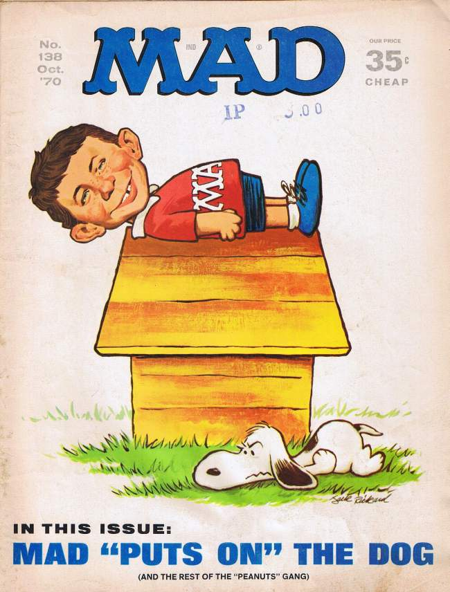 MAD Magazine #138 • USA • 1st Edition - New York