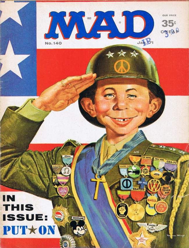 MAD Magazine #140 • USA • 1st Edition - New York