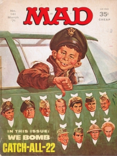 Go to MAD Magazine #141 • USA • 1st Edition - New York