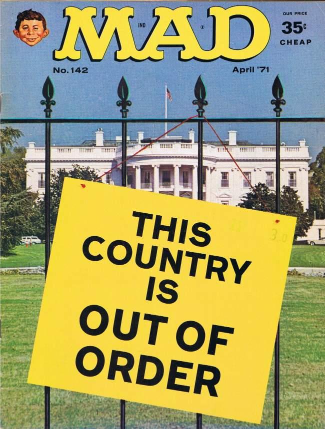MAD Magazine #142 • USA • 1st Edition - New York