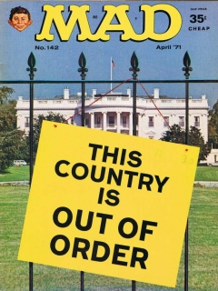 MAD Magazine #142 • USA • 1st Edition - New York