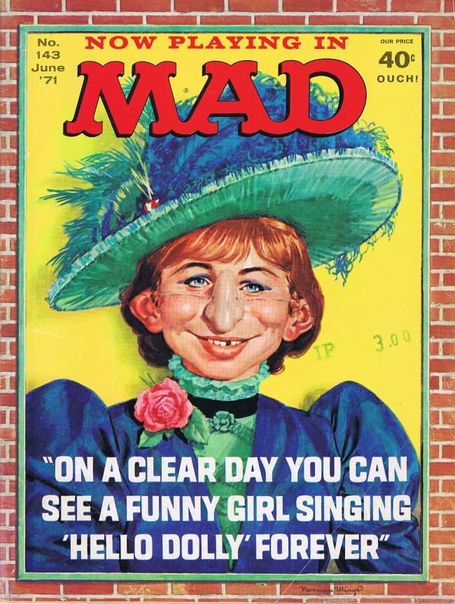 MAD Magazine #143 • USA • 1st Edition - New York