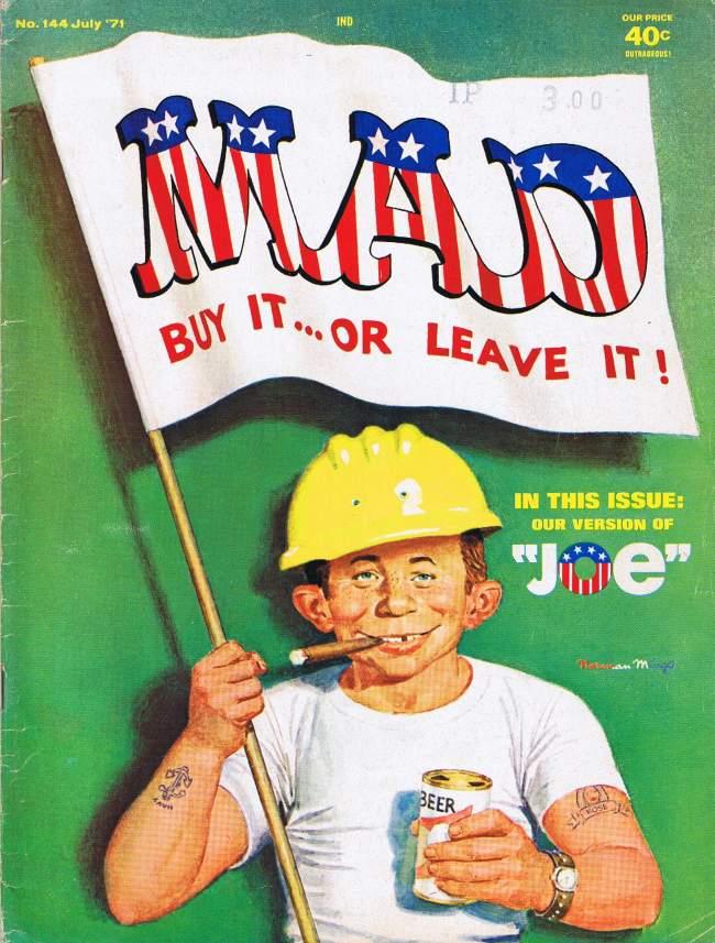 MAD Magazine #144 • USA • 1st Edition - New York