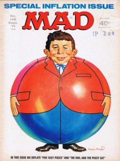 Go to MAD Magazine #145