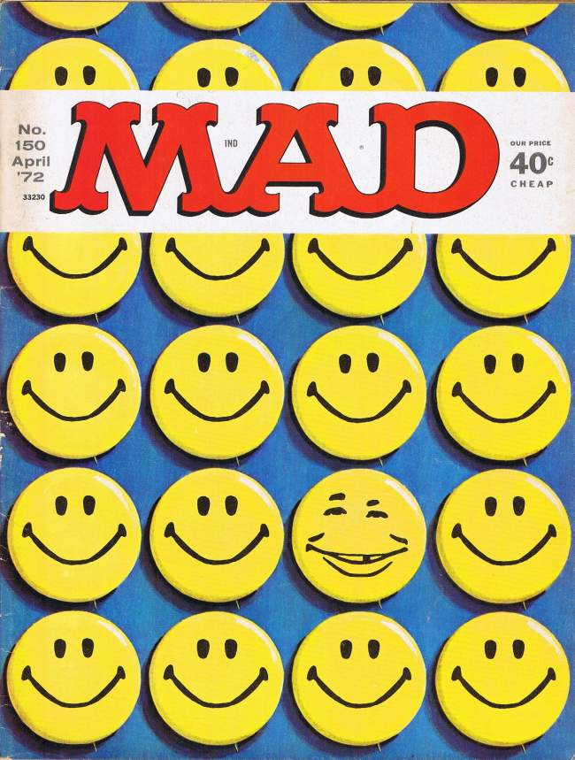 MAD Magazine #150 • USA • 1st Edition - New York