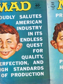 Go to MAD Magazine #151 • USA • 1st Edition - New York