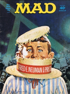 Go to MAD Magazine #153 • USA • 1st Edition - New York